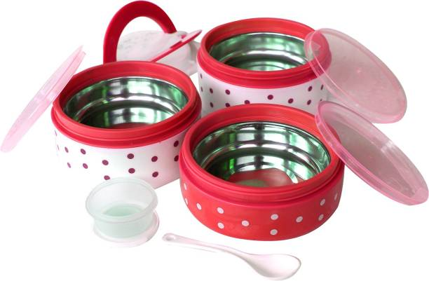 batwada export 3 Containers Lunch Box 3 Containers Lunch Box