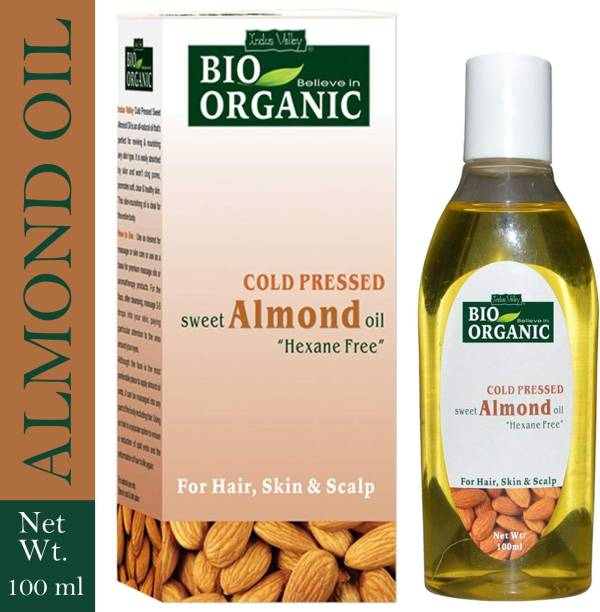 Indus Valley Cold Pressed Sweet Almond Oil