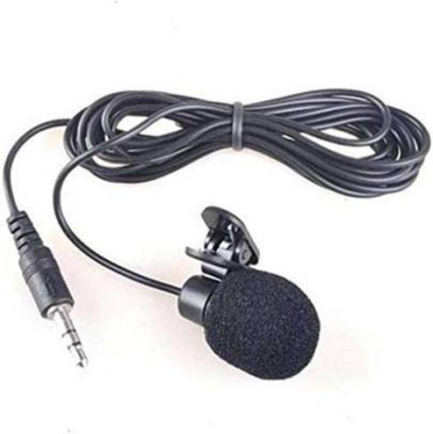 LXCN Collar Microphone With Clip for Chatting, Voice & Video Call Voice Recording Microphone COLAR MICROPHONE (Black) Perfect for Youtuber