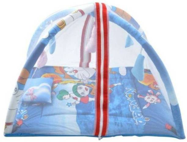 Teeny Weeny ® Cotton Kids Baby Bed And Play Gym Baby Mosquito Net