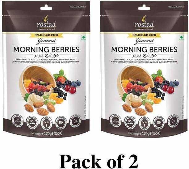 rostaa Morning Berries 170gm (Pack of 2)