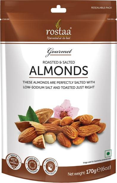 rostaa Roasted & Salted Almond 170gm Almonds