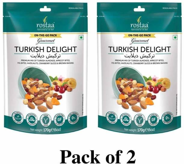 rostaa Turkish Delight 170gm (Pack of 2)