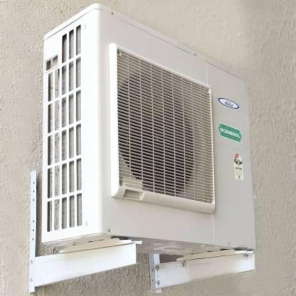 Demelza Heavy (3mm) GI Metal Air-Conditioner Compressor Stand - AC Stand 0.8 Ton to 2.0 Ton Shelf Bracket