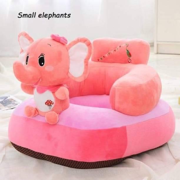 AVS Elephant shape soft plus cushion baby sofa seat or rocking chair for kids 45 cm pink Fabric Sofa