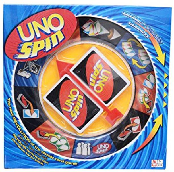 HEER UNO Spin Family Card Game For Fun (HCCD ENTERPRISE) Strategy & War Games Board Game