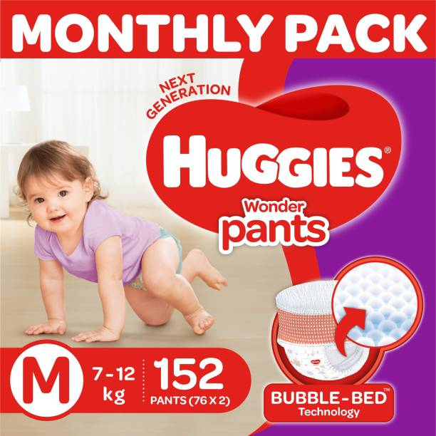 Huggies Wonder Pants diapers -Monthly Box - M