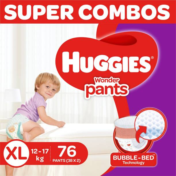 Huggies Wonder Pants Diapers -Combo Pack - XL