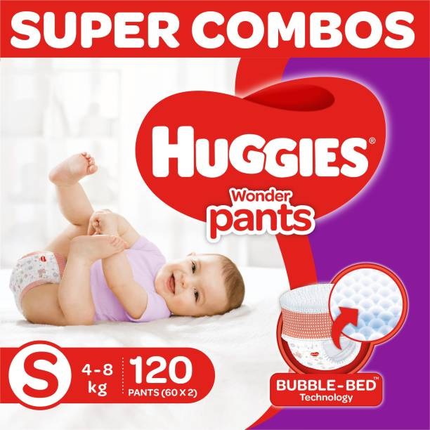 Huggies Wonder Pants Diapers -Combo Pack - S