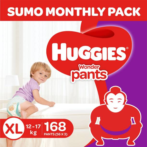 Huggies Wonder Pants Diapers -Sumo Pack - XL