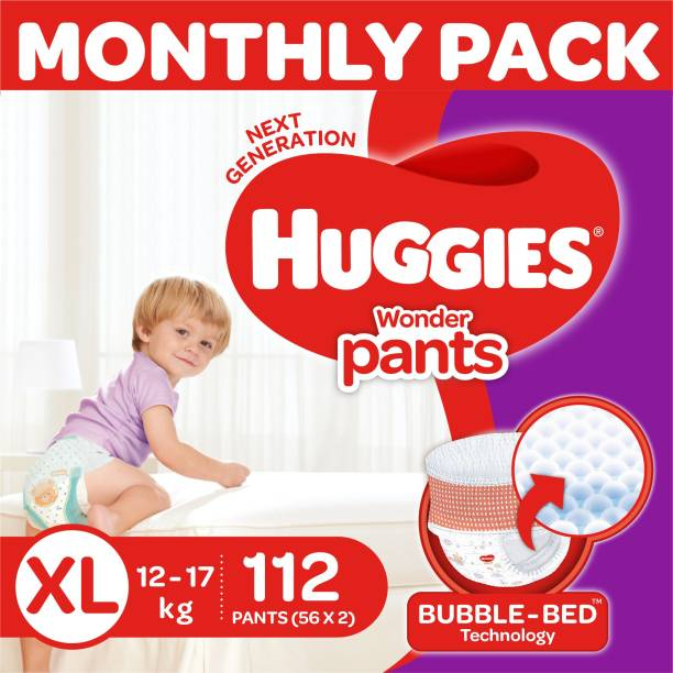 Huggies Wonder Pants Diapers -Monthly Box - XL