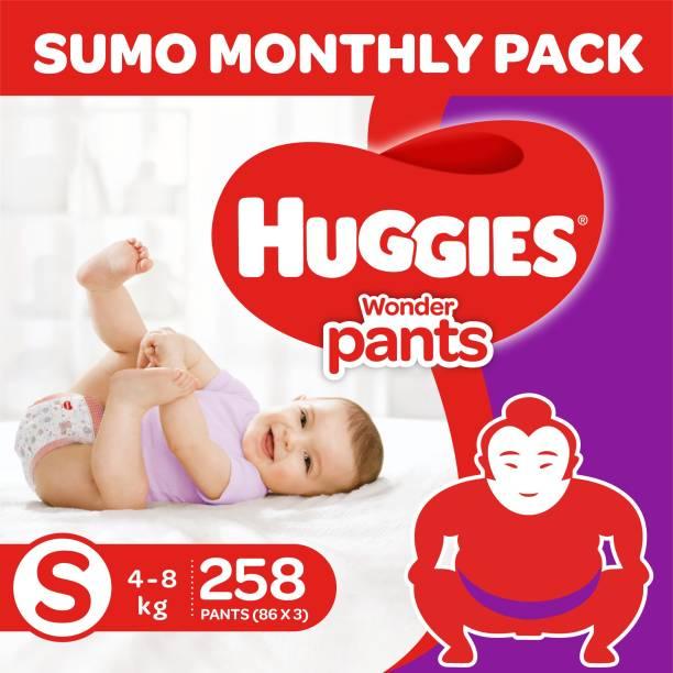 Huggies Wonder Pants Diapers -Sumo Pack - S