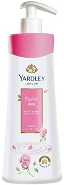 YARDLEY London English Rose Moisturising Body Lotion, 350 ml