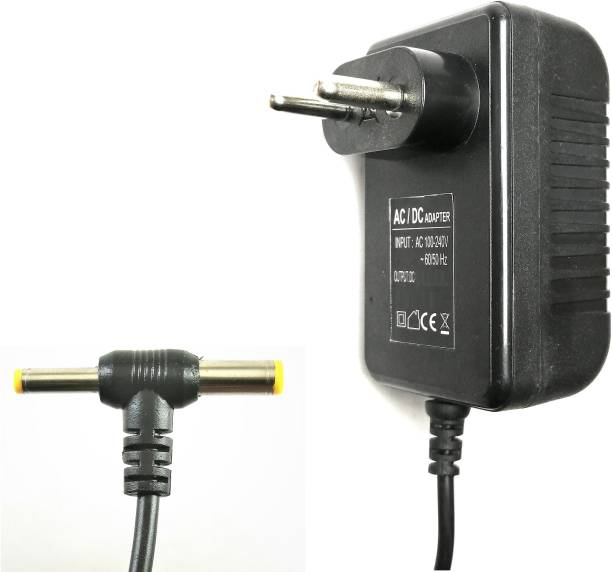 Adapton 12V 1A Power Adaptor, Power Supply Ac Input 100-240V Dc Output 12Volt 1Amps Worldwide Adaptor
