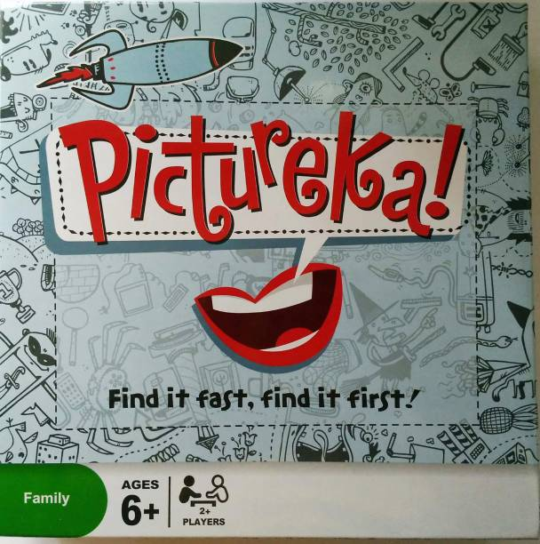 HEER Fun And Cool The Game of Pictureka (HCCD ENTERPRISE) Strategy & War Games Board Game
