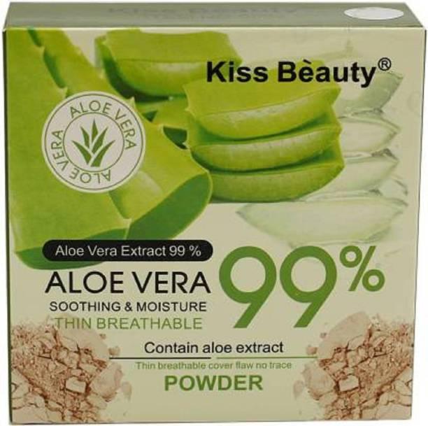 Kiss Beauty Aloevera 99% SPF 50 Foundation & Powder Compact