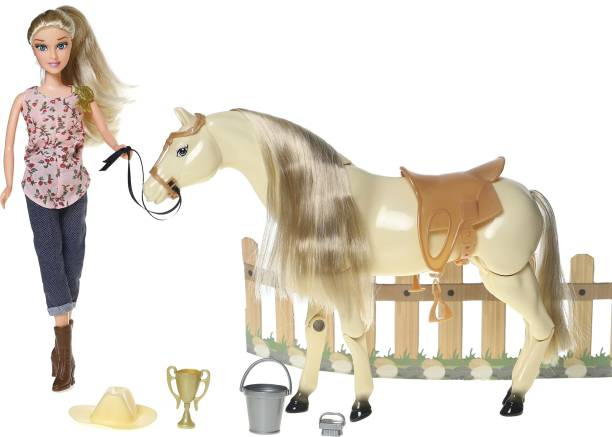 Miss & Chief Hannah and Horse Playset