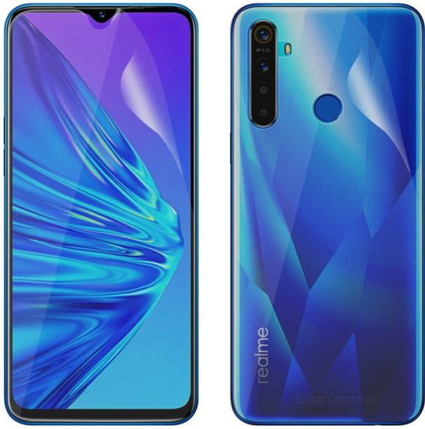 Case Creation Front and Back Screen Guard for Realme Narzo 20, Realme Narzo 20A, Realme C11, Realme C12, Realme C15, Realme C3, Realme 5, Realme 5i, Realme 5s, Oppo A9 2020, Oppo A5 2020, Realme Narzo 10, Realme Narzo 10A, Oppo A31