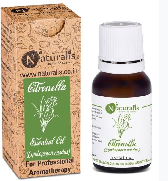 Naturalis Citronella Essential Oil