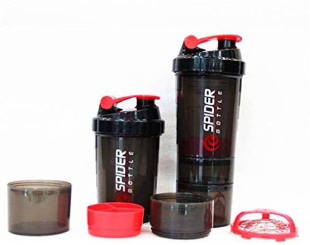 Quinergys ® Shaker Bottle Protein Shaker | Sipper Bottle | Gym Bottle | Water Bottle - Red 600 ml Shaker