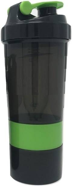 Quinergys ™ Protein Shaker Bottle Shaker Bottle with Very Light and Easy to Clean - Green 600 ml Shaker