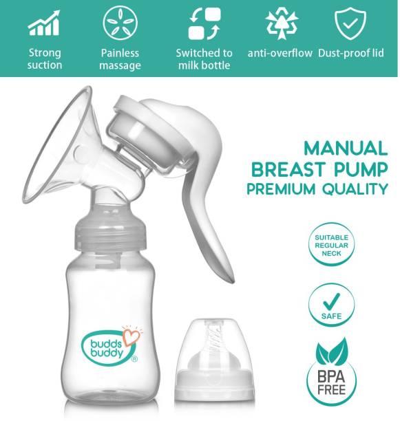 Buddsbuddy Manual Breast Pump Premium Quality 1 Pc BB7099  - Manual