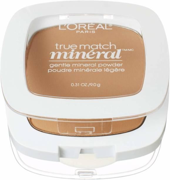 L'Oréal Paris True Match Mineral Pressed Powder, Sand Beige, 0.31 Ounce [CAT_1 Compact