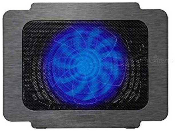 LipiWorld Gaming Laptop Cooling Pads Ultra Slim USB Laptop Cooler pad Single Fan (k16) 1 Fan Cooling Pad
