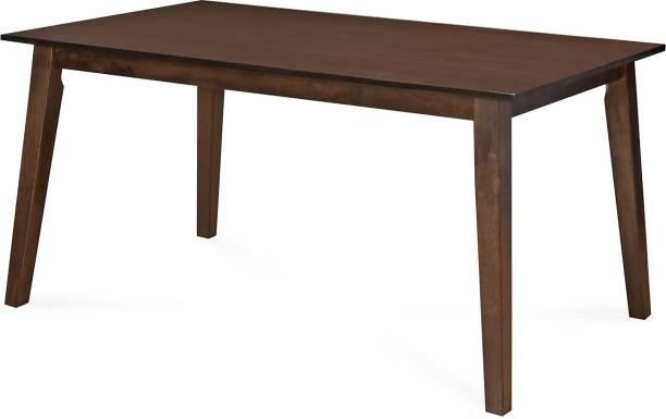 Nilkamal Amber Engineered Wood 6 Seater Dining Table