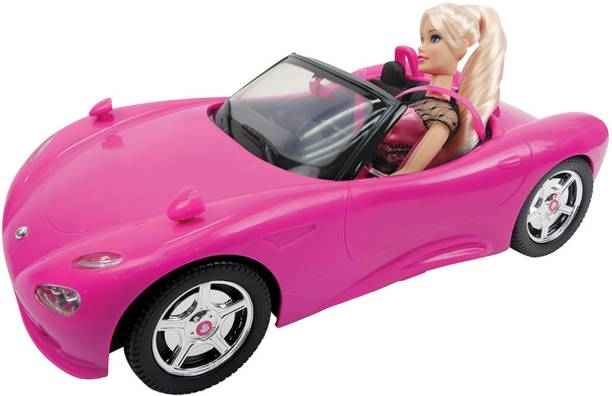 Miss & Chief Hannah Doll and Her Car Playset