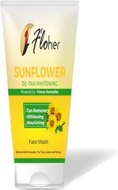 Floher SUNFLOWER DE-TAN WHITENIING FACE WASH Face Wash