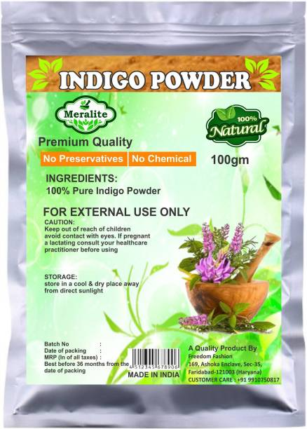 Meralite 100% Organic Indigo Powder