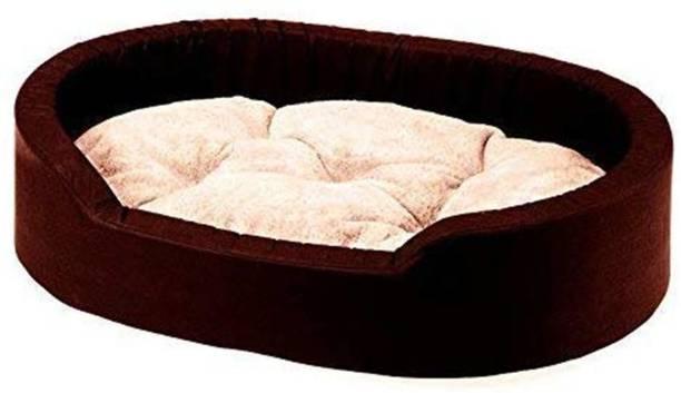 R.K Products 037 brown with cream gadi M Pet Bed