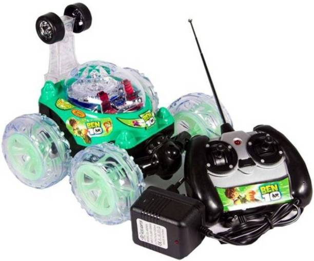 ACM Ben 10 Stunt Car High Quality Remote Control Dancing Racing Led acrobatic 360 stunt car fully remote control smart toy