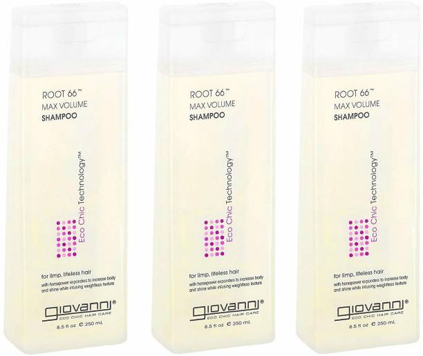 Giovanni Root 66 Max Volume Shampoo 8.5-Ounce (Pack Of 3) [Cat_216]