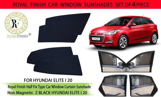 ROYAL FINISH Rear Window, Side Window Sun Shade For Hyundai Elite i20