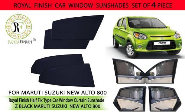 ROYAL FINISH Rear Window, Side Window Sun Shade For Maruti Suzuki Alto 800