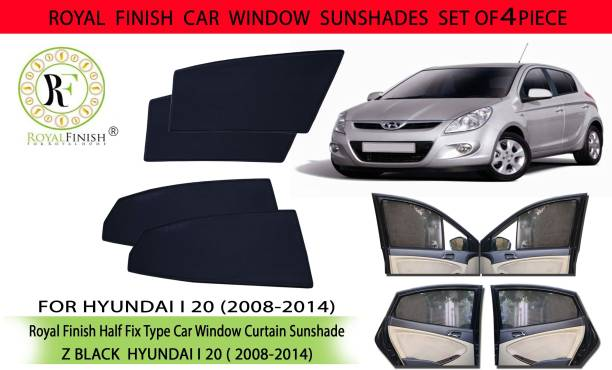 ROYAL FINISH Rear Window, Side Window Sun Shade For Hyundai i20