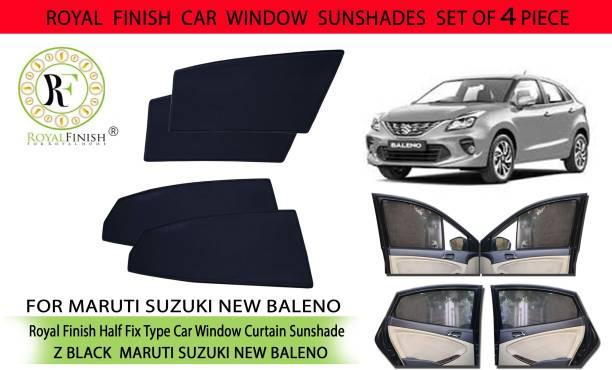 ROYAL FINISH Rear Window, Side Window Sun Shade For Maruti Suzuki Baleno