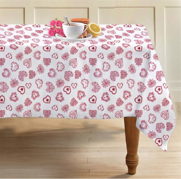 AIRWILL Printed 4 Seater Table Cover