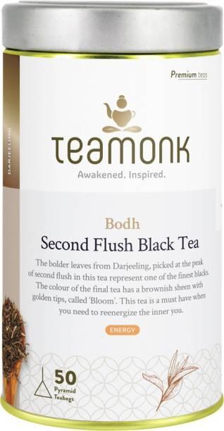 Teamonk Bodh Darjeeling Black Tea Tin