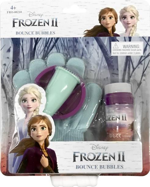 DISNEY Frozen Bounce Bubble Maker Bubble Toy For Kids Toy Bubble Maker