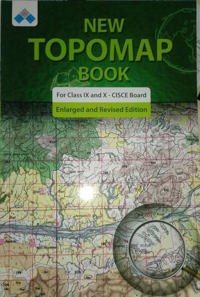 NEW TOPOMAP BOOK FOR CLASS IX AND X - CISCE BOARD