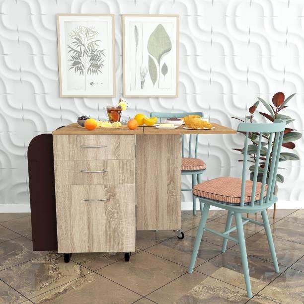 Studio Kook Opus Engineered Wood 2 Seater Dining Table