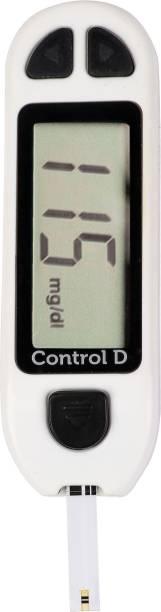 Control D Diabetes Sugar Testing Machine with 5 Strips Glucometer