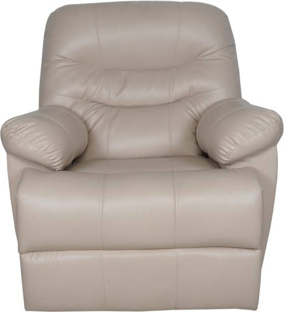 The Couch Cell Leatherette Manual Recliner