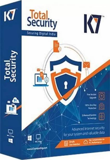 K7 Total Security 2 User 1 Year (Renewal)