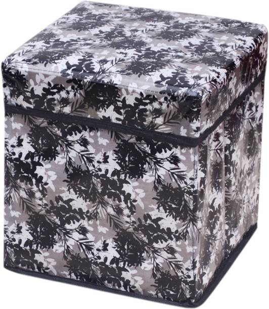 Ashvath Foldable Stool With Storage Space Laod Capacity 60 KG Outdoor & Cafeteria Stool