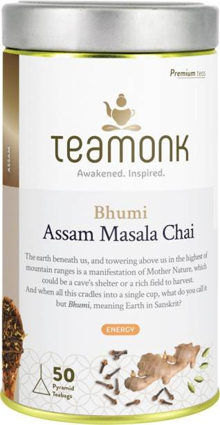 Teamonk Bhumi Cinnamon, Cloves Black Tea Tin