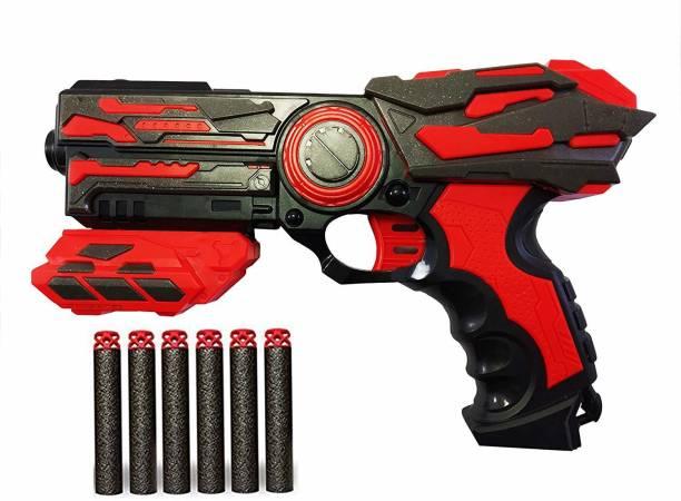 Lattice Blaze Strom Soft Bullet Toy Gun with 6 Foam Bullets Guns & Darts